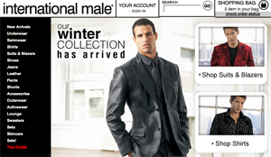 'International Male': One Man's Shopping Site Is Another Man's Soft Porn