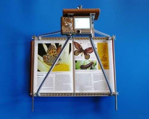 $20 Digital Copier Is a DIY Book-Scanning Machine