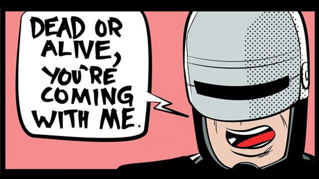 Robocop Gives GameStop a Prime Directive