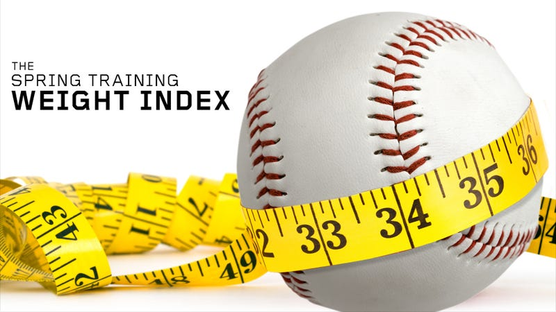 Cardio And Pooping: A Chart Of Every MLB Player Who Reportedly Lost Or Gained Weight This Offseason (And Why)