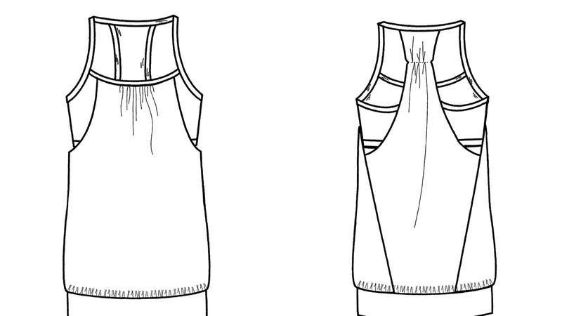 Lululemon Foils Knock-Offs By Patenting Bras, Tank Tops and Shorts