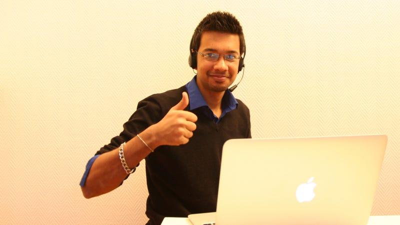 Test interview with Karan Shah