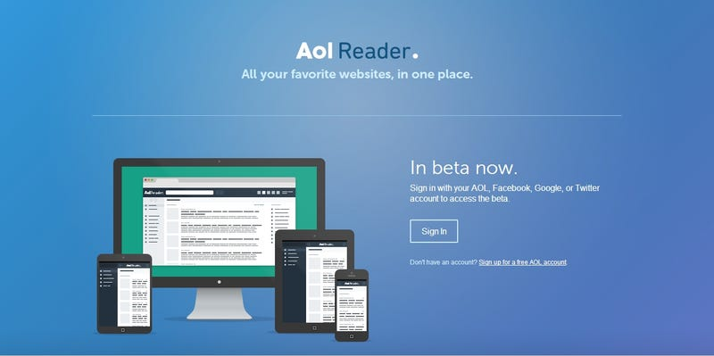 REVIEW: AOL Reader