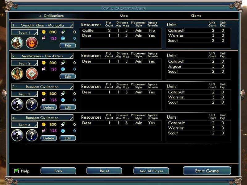 Make Your Civ V Game A Little More Realistic