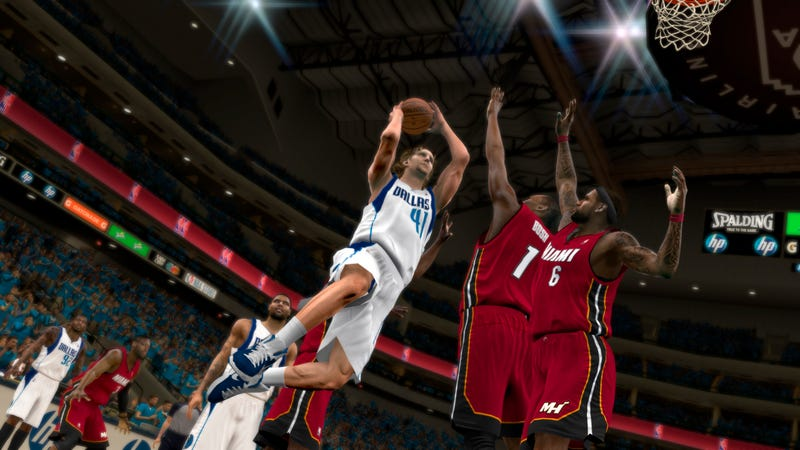 This First Glimpse of NBA 2K12 May Be the Only Pro Basketball You See Next Year
