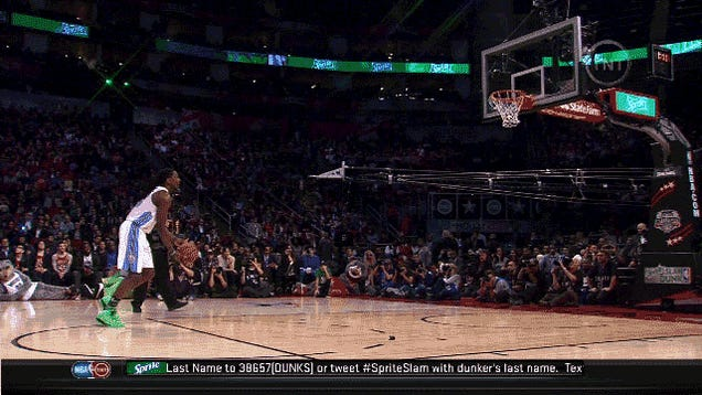 GIF: Kenneth Faried's Second Dunk