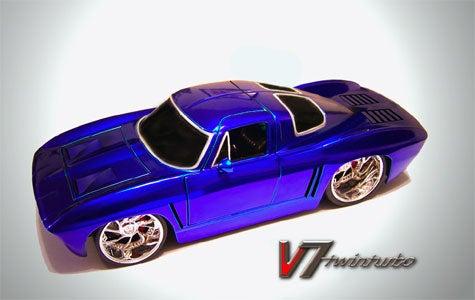 Mid-Engine Twin Turbo Corvette Super Coupe