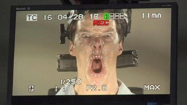 Benedict Cumberbatch elképesztően hülye pofákat vágott a Hobbit miatt