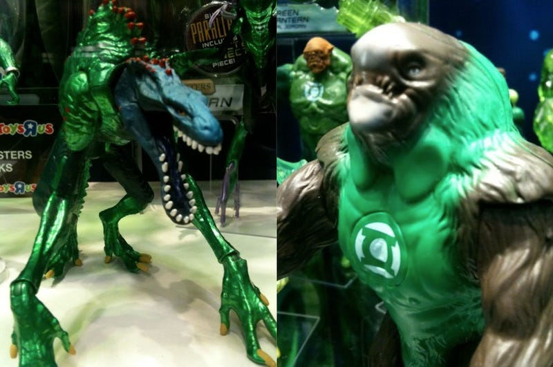 Wondercon Best of the Floor: Green Lantern's Guardians, X-Men Tarot and Sucker Punch Cosplay