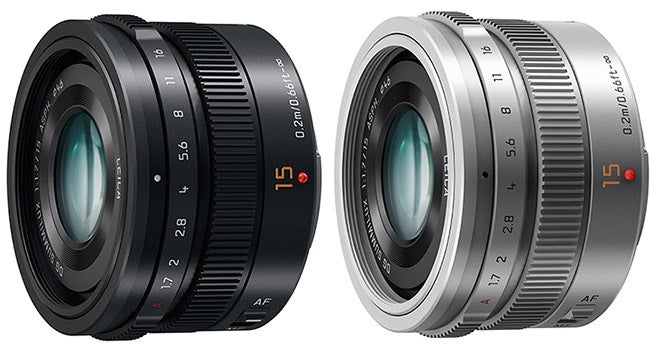 Panasonic's New 15mm f/1.7 Lens Designed by Leica Looks Gorgeous