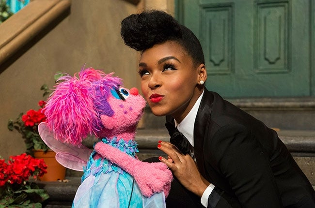 The Electric Lady Comes to Sesame Street