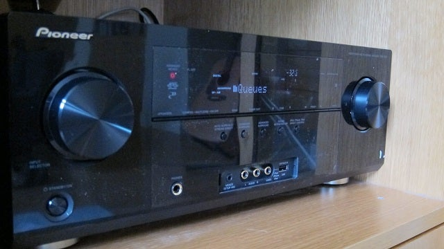 Pioneer VSX-1021-K Receiver Review Gallery