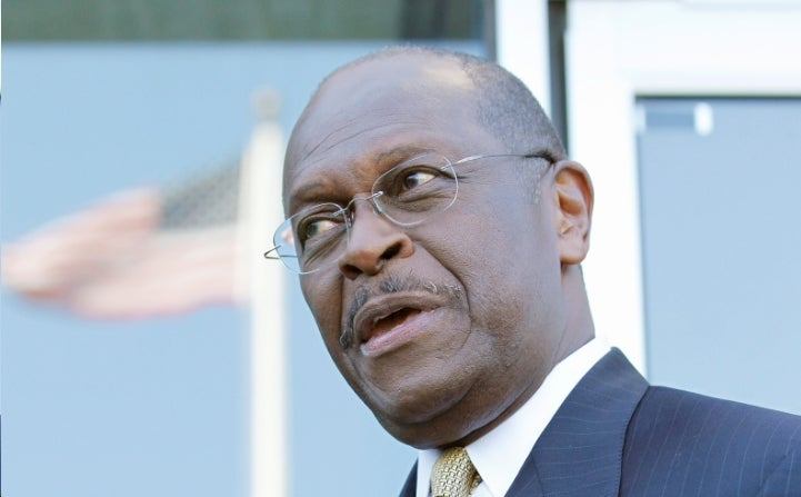 Herman Cain: 'The Biggest Threat to the Left Since the Fall of Communism'