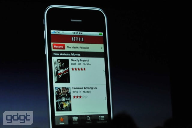 Finally! A Full Netflix iPhone App