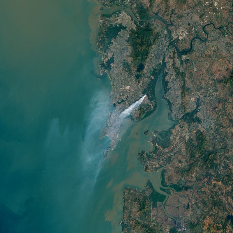 Mumbai's Garbage Fire Is So Huge You Can See It From Space