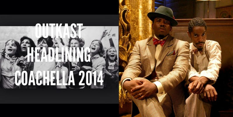 OutKast to Reunite, Headline Coachella 2014
