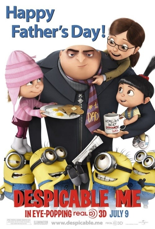 Despicable Me Poster Gallery