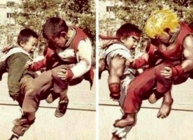 Little Kids Make the Best Street Fighters