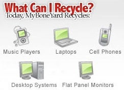 MyBoneYard Rewards You for Recycling Your Old Electronics