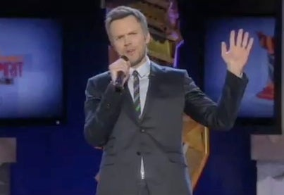 Joel McHale Opens the Independent Spirit Awards with a Movie Parody