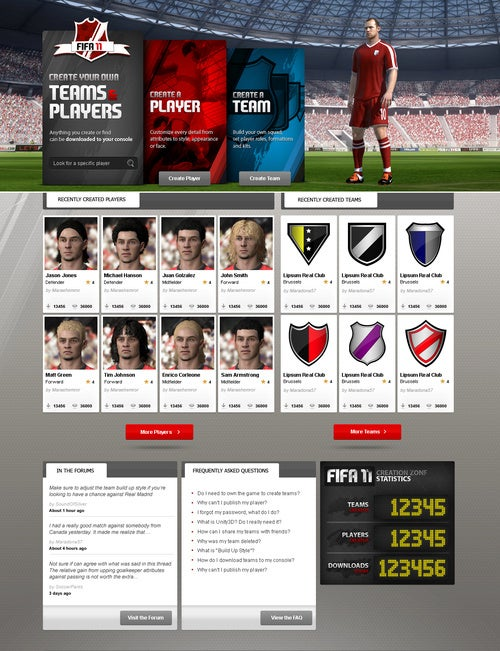 FIFA 11 Out In September, Going For Pro Evo's Jugular