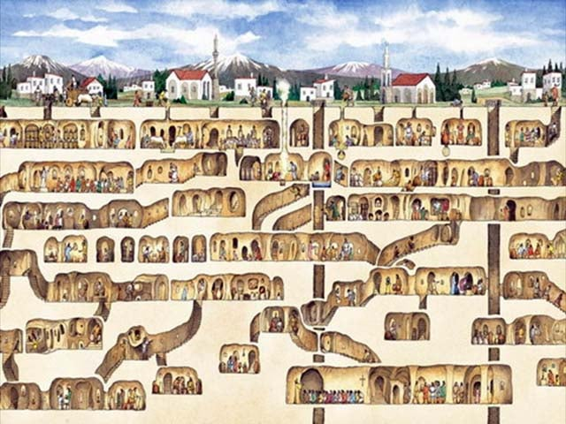 10 Mysterious Underground Cities