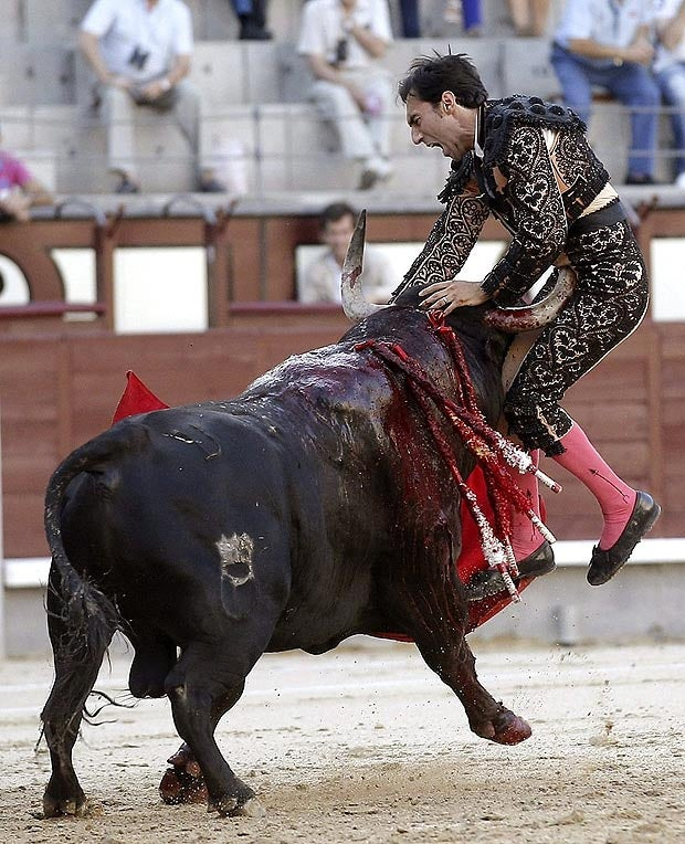 Bull Gores The Shit Out Of Matador [Possibly NSFW]