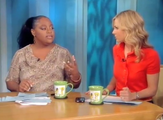 The View Takes on Chris Brown's GMA Freak Out