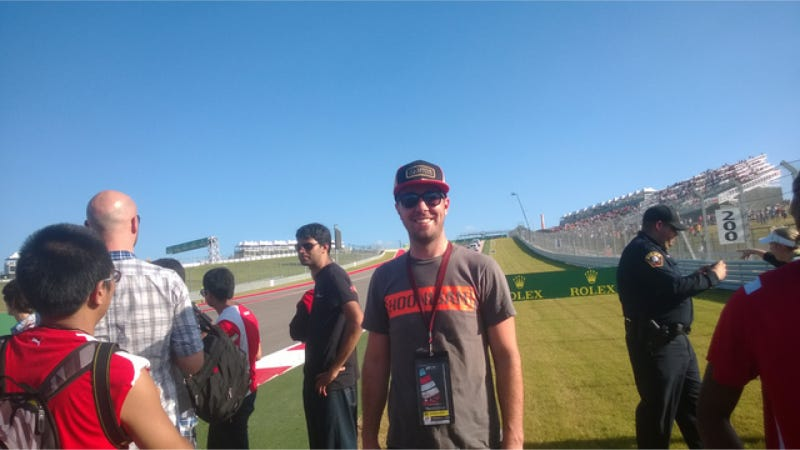 I Met Romain Grosjean And Had An Epic Time At My First F1 Race