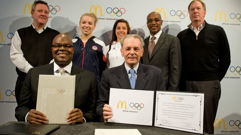 McDonald's Swears It's a Perfectly Healthy Olympic Sponsor