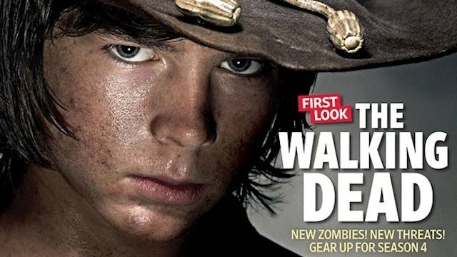 Carl from Walking Dead has grown up and he's terrifying