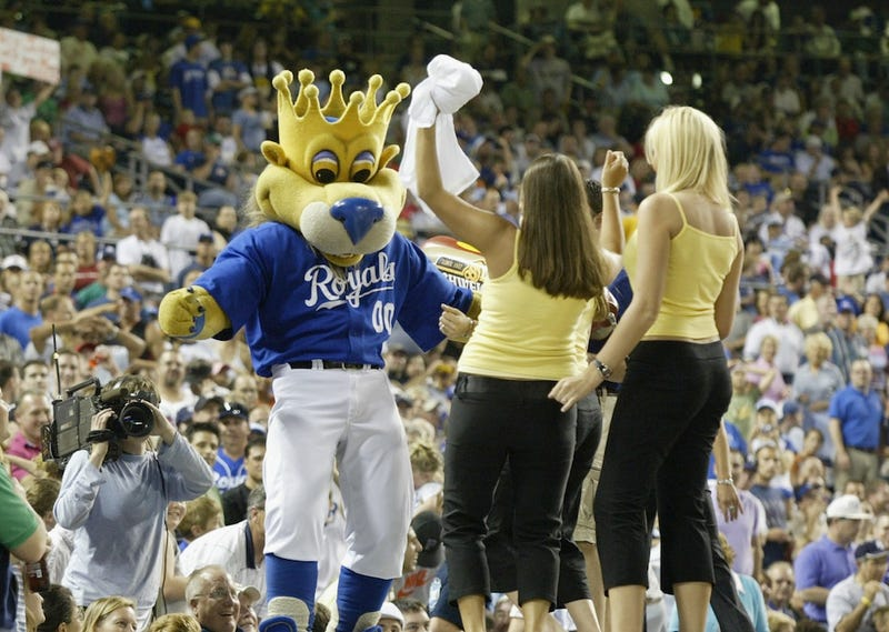 Does Sluggerrr, The Kansas City Royals Mascot, Enjoy Lap Dances? (NSFW)