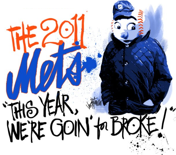 A Sketchbook Of A Season With The Mets