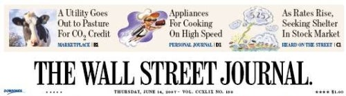 If You Ever Bought The 'WSJ' You'd Be Steamed Right Now