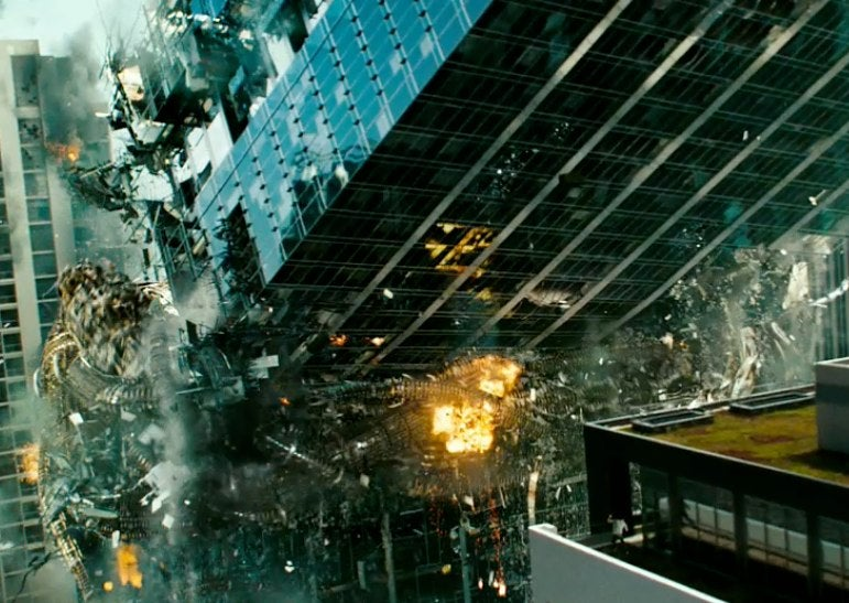Transformers 3 is a movie about how wrong you were to hate Transformers 2