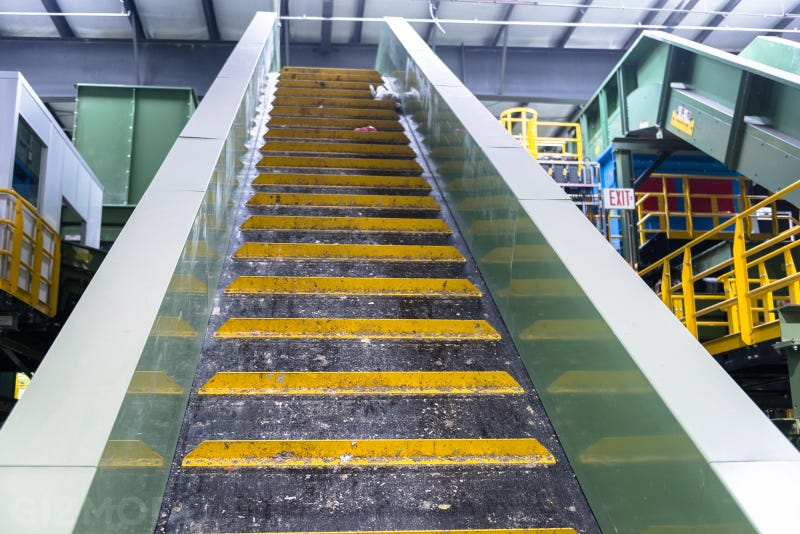 A Tour of the Largest Commingled Recycling Plant in the U.S.