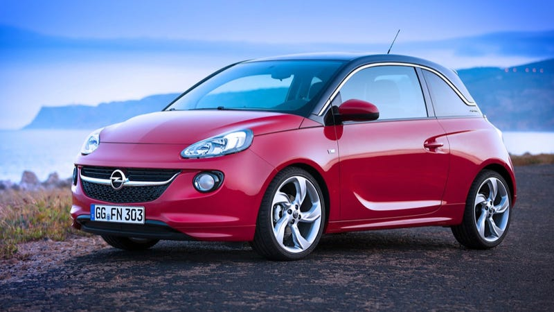 Opel Adam Is Going To China As The Buick Adam For Some Reason