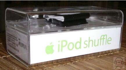 Black iPod Shuffle?