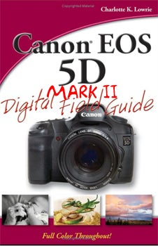 Canon 5D Mark II Field Guide Listed on Amazon, Points Toward Sept. Photokina Announcement