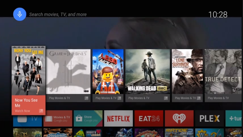 Google Unveils Android TV, Brings Android to the Big Screen