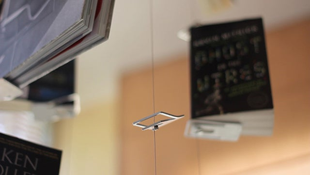 Cool thingamajig lets you have your books flying around your home