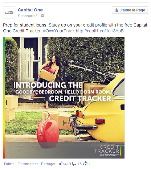 For Once, I Love A Facebook Ad