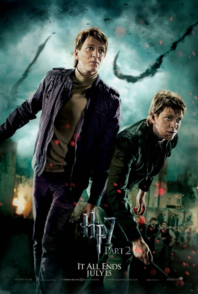Every Harry Potter and the Deathly Hallows Part II Poster