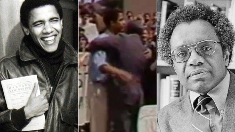 Why We're Talking About Barack Obama and Derrick Bell Now