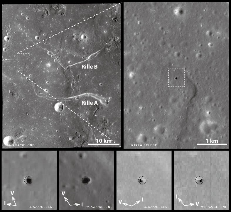 Mysterious Lunar Base Hole Explained
