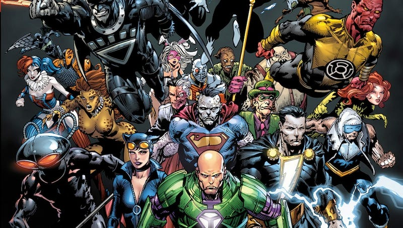 The evilest month of the year begins thanks to DC's villains