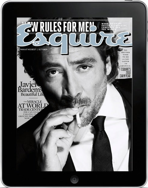 Esquire Is the Latest Mag to Embrace iPad