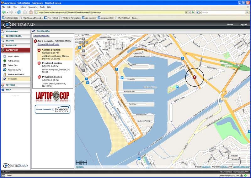 Laptop Cop Geo-Locates Stolen Laptops With Wi-Fi