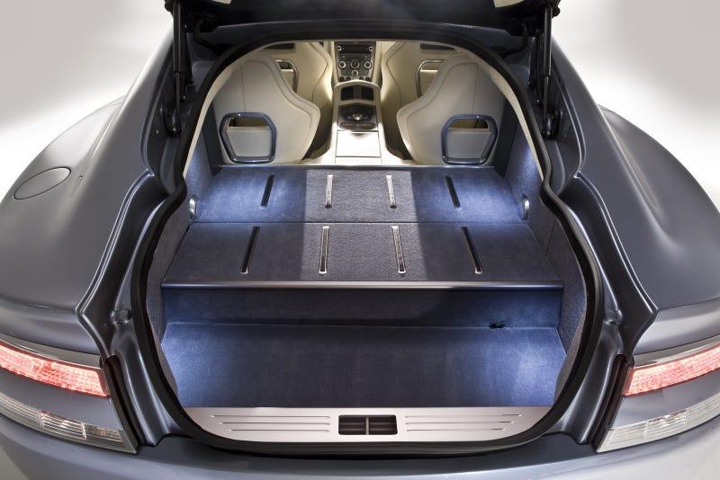 Aston Martin Rapide Interior