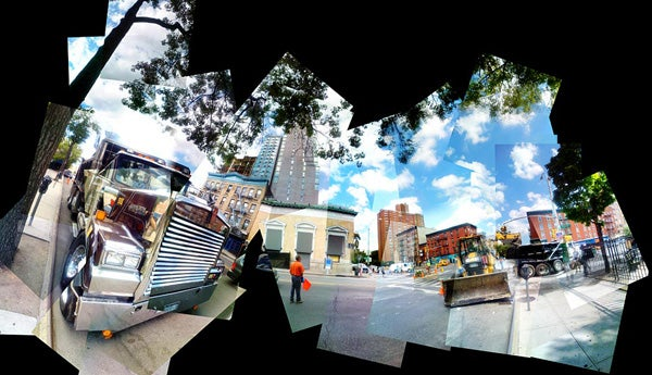 Fantastic Patchwork Panoramas Using Just the iPhone Camera
